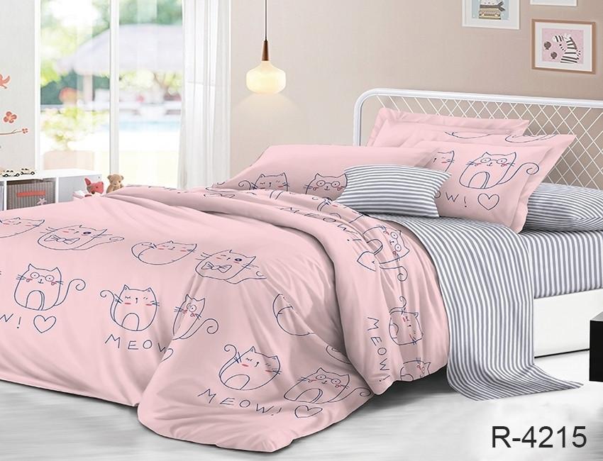 Комплект постельного белья семейный с компаньоном R4215