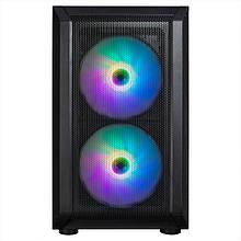 Корпус 1stPlayer D3-G7-PLUS RGB Black без БП