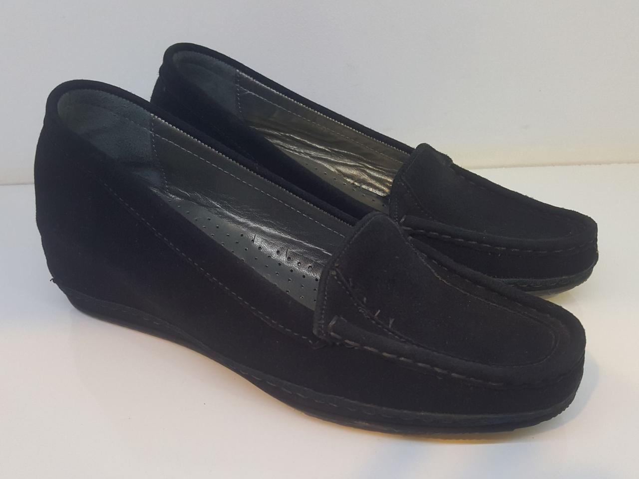 Мокасини Etor 2892-6-3409-1 чорний