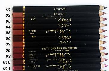 Стойкий карандаш для губ и глаз Miss Madonna, фото 2
