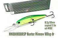 Троллинговый воблер EOS Hunter minnow 100 sp dr цвет 002