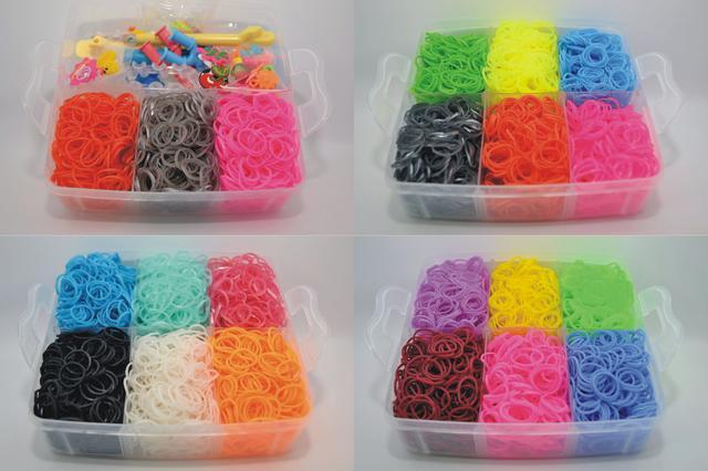 гумки в набое для плетіння