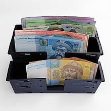 СКАРБ-2 (3)П купюрница с присосками в маршрутку (коробочка для денег)