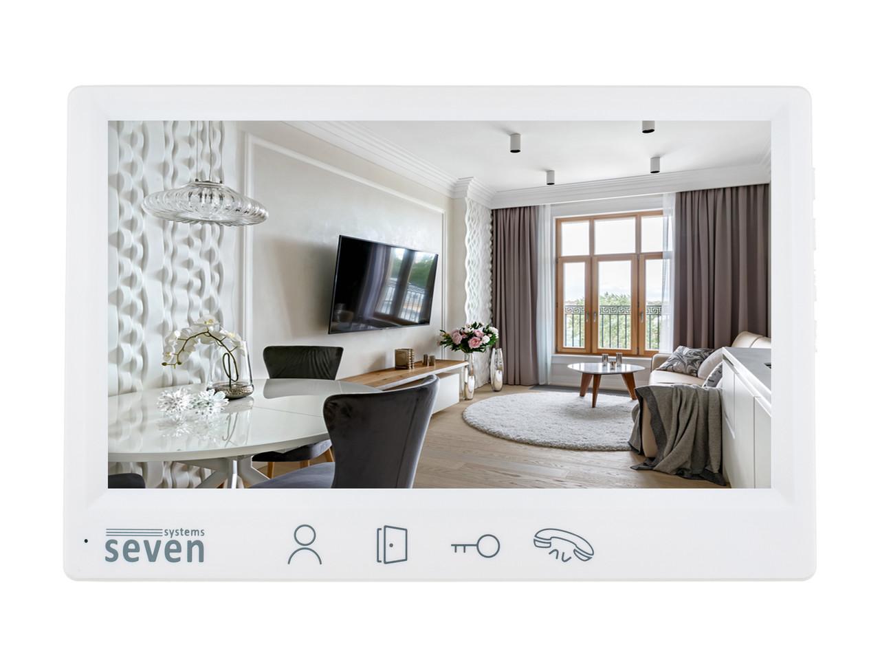 Домофон SEVEN DP–7571 FHD white