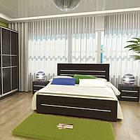 Кровать деревянная двуспальная Соломия