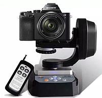 Обертовий моторизований штатив - головка з пультом ДУ - YT-500 від Zifon для камер і телефонів, фото 1