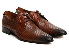 Туфлі Etor 9838-492 коричневі
