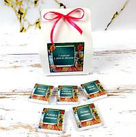 Шоколадний подарунковий міні набір 5 шт. З Днем знань 1 вересня. Подарунок вчителям, школярам, першачкам