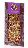 Шоколад ручной роботы Shoud'e с грецким орехом 100г