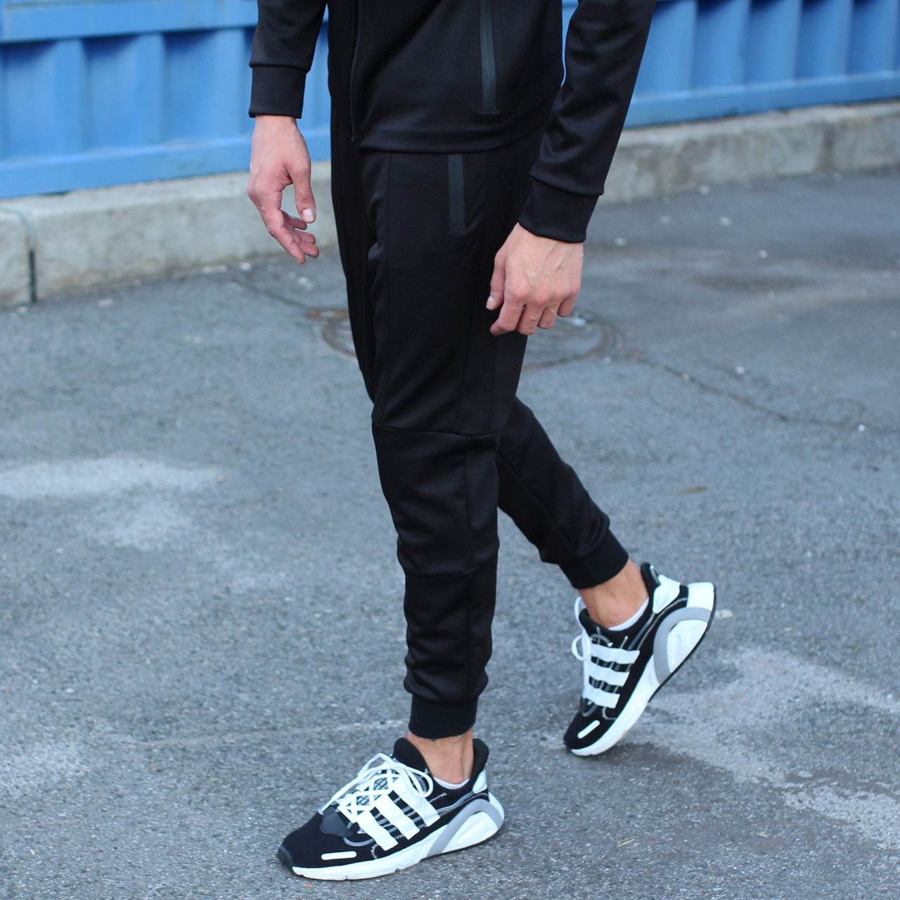 Спортивные штаны мужские черные Актив размер XS, S, M, L,XL