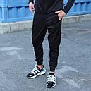 Спортивные штаны мужские черные Актив размер XS, S, M, L,XL, фото 3