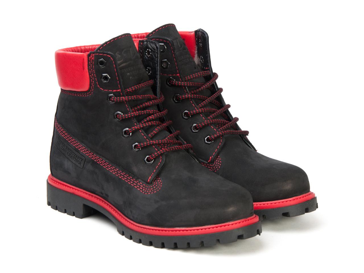 Черевики Etor 9916-2298-11 чорно+червоний