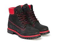 Черевики Etor 9916-2298-11 чорно+червоний, фото 1