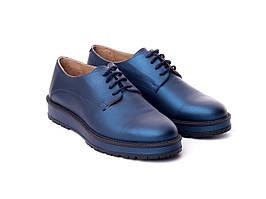 Туфлі Etor 5961-3274-06 сині