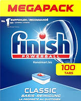 Таблетки для посудомоечных машин Finish Tabs Classic 100 шт