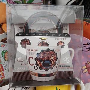 Керамическая чашка в подарочной упаковке Coffe