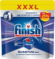 Таблетки для посудомийних машин класік Finish Quantum 60 шт
