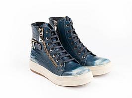 Черевики Etor 4481-32-374 синій+білий