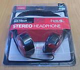 Дротові навушники повнорозмірні Havit HV-H607d (червоні), фото 2