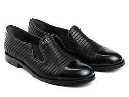 Туфлі Etor 4920-525 чорні
