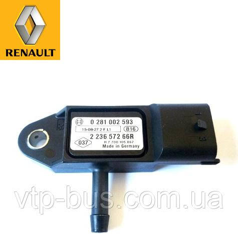 Датчик регулировки давления воздуха на Renault Trafic 1.9dCi (2001-2006) Renault (оригинал) 223657266R