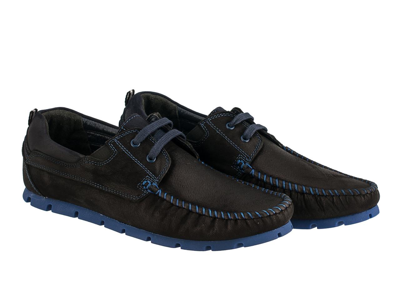 Мокасини Etor 13651-16654-013  чорний
