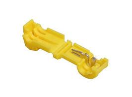 Затиск-відгалужувач ЗПО-2 4-6 мм2 жовтий TechnoSystems TNSy5501131
