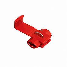 Затиск-відгалужувач ЗПО-1 0.5-0.75 мм2 червоний TechnoSystems TNSy5501126