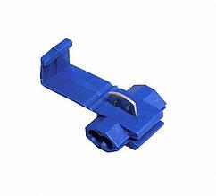 Затиск-відгалужувач ЗПО-1 0.75-2.5 мм2 синій TechnoSystems TNSy5501127