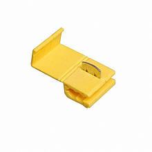 Затиск-відгалужувач ЗПО-1 4-6 мм2 жовтий TechnoSystems TNSy5501128