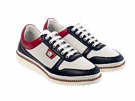 Кросівки Etor 6845-8044  білий+синій+червоний