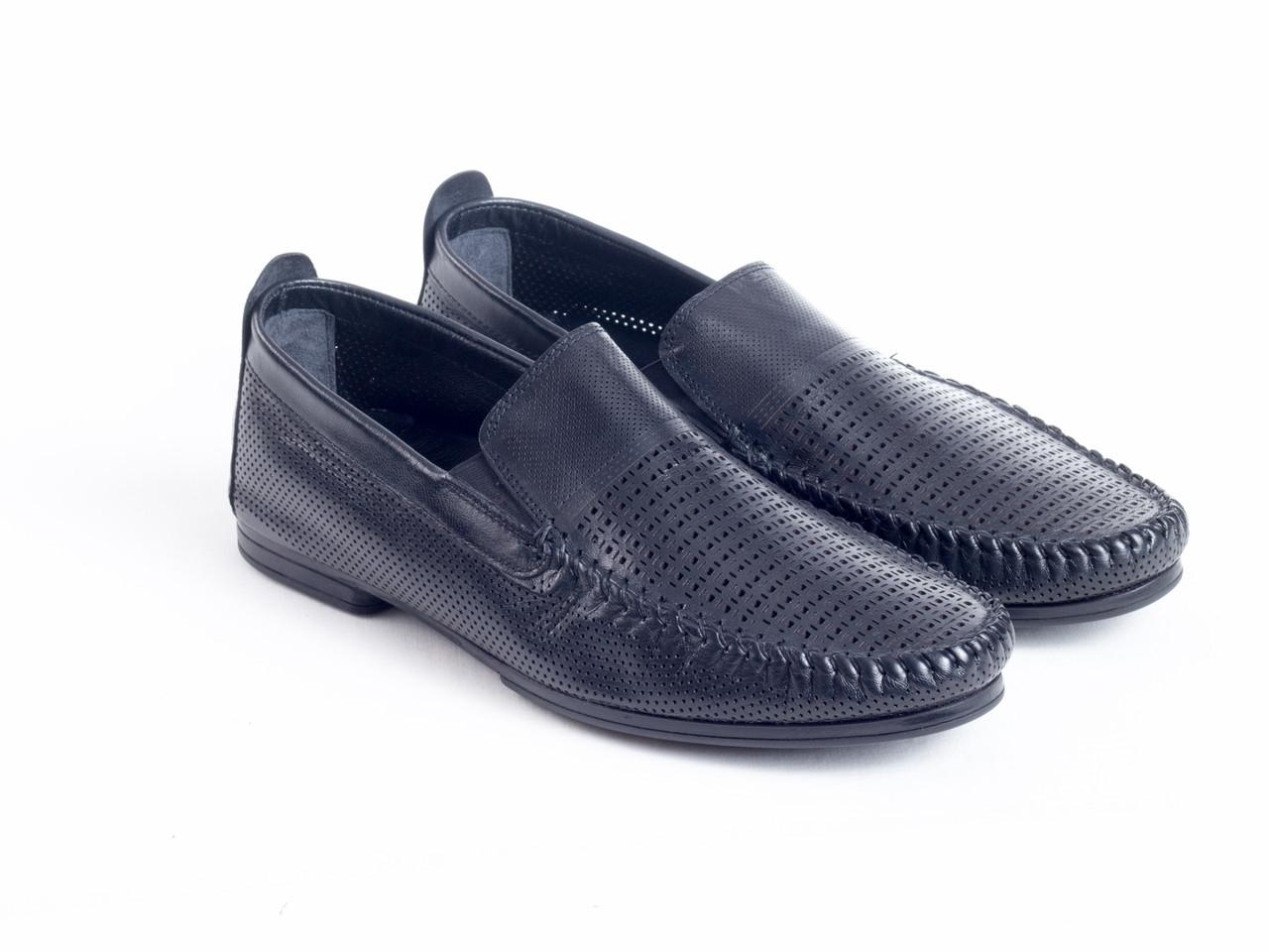 Мокасини Etor 14949-6590-2 чорний