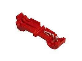 Затиск-відгалужувач ЗПО-2 0.5-0.75 мм2 червоний TechnoSystems TNSy5501129