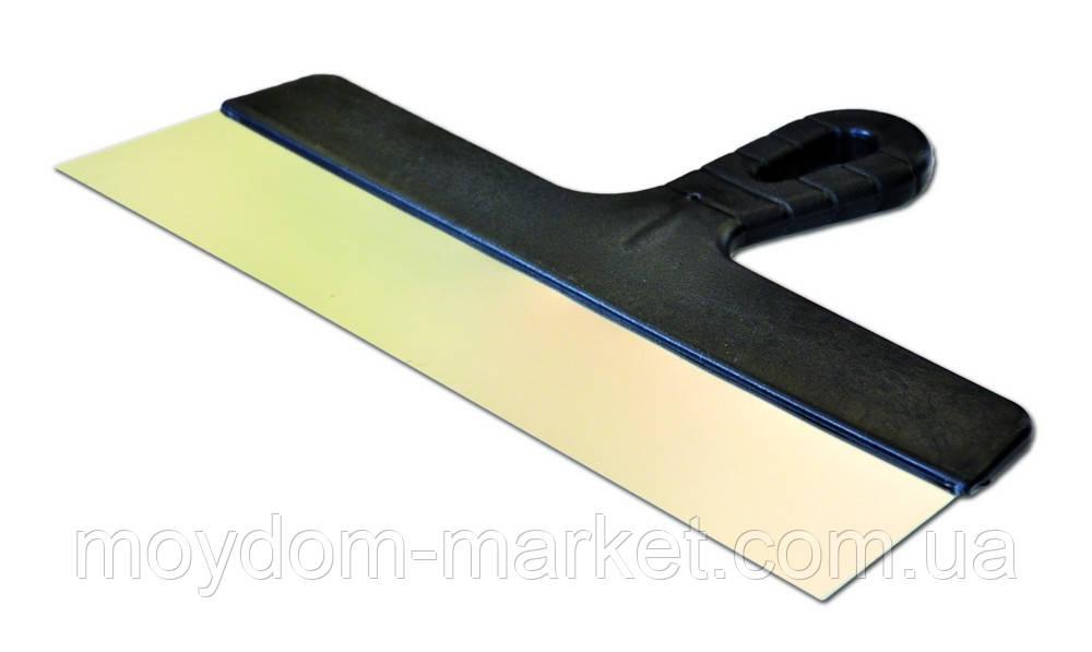 Шпатель з пластмасовою ручкою, фасад, 350мм FAVORI (05-420)