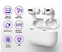 Беспроводные наушники Air Pro 3 Белые в стиле Apple AirPods сенсорные с кейсом