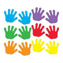 Разноцветные следы (ладошки) EDX Education