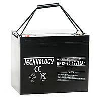 Аккумулятор Technology NP12-75