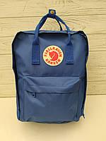 Городской рюкзак-сумка Канкен Kanken цвет Синий, фото 1