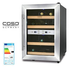 Винный холодильник шкаф CASO WineDuett 12