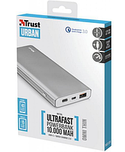 Батарея універсальна Trust Urban Omni Power Bank 10.000 mAh Quic Charge 3.0 Usb-C