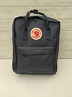 Городской рюкзак-сумка Канкен Kanken цвет Темно Синий, фото 1