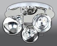 BUKO 256 ЛЮСТРА LED 3*5W ХРОМ+ХРОМ D350*H240MM