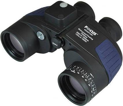Бинокль FOCUS AquaFloat 7x50 WP Compass