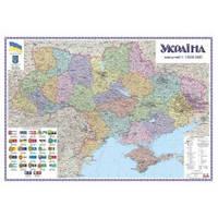 Україна 1:1 000 000 полит-админ картон