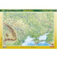 Україна 1:2 500 000 фізична ламінована ПЛАНКИ