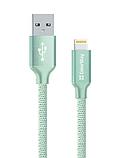 Кабель ColorWay USB-Lihgtning (2.4), 2м Black (CW-CBUL007-BK), фото 3