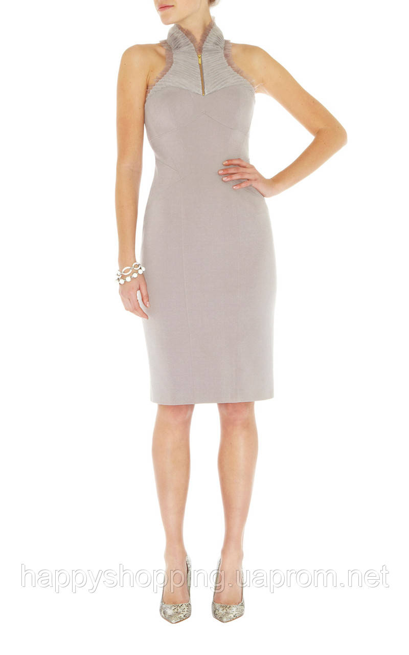 Серое платье Karen Millen