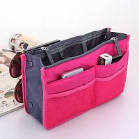 Органайзер для женской сумочки Maxi Малиновый, фото 1