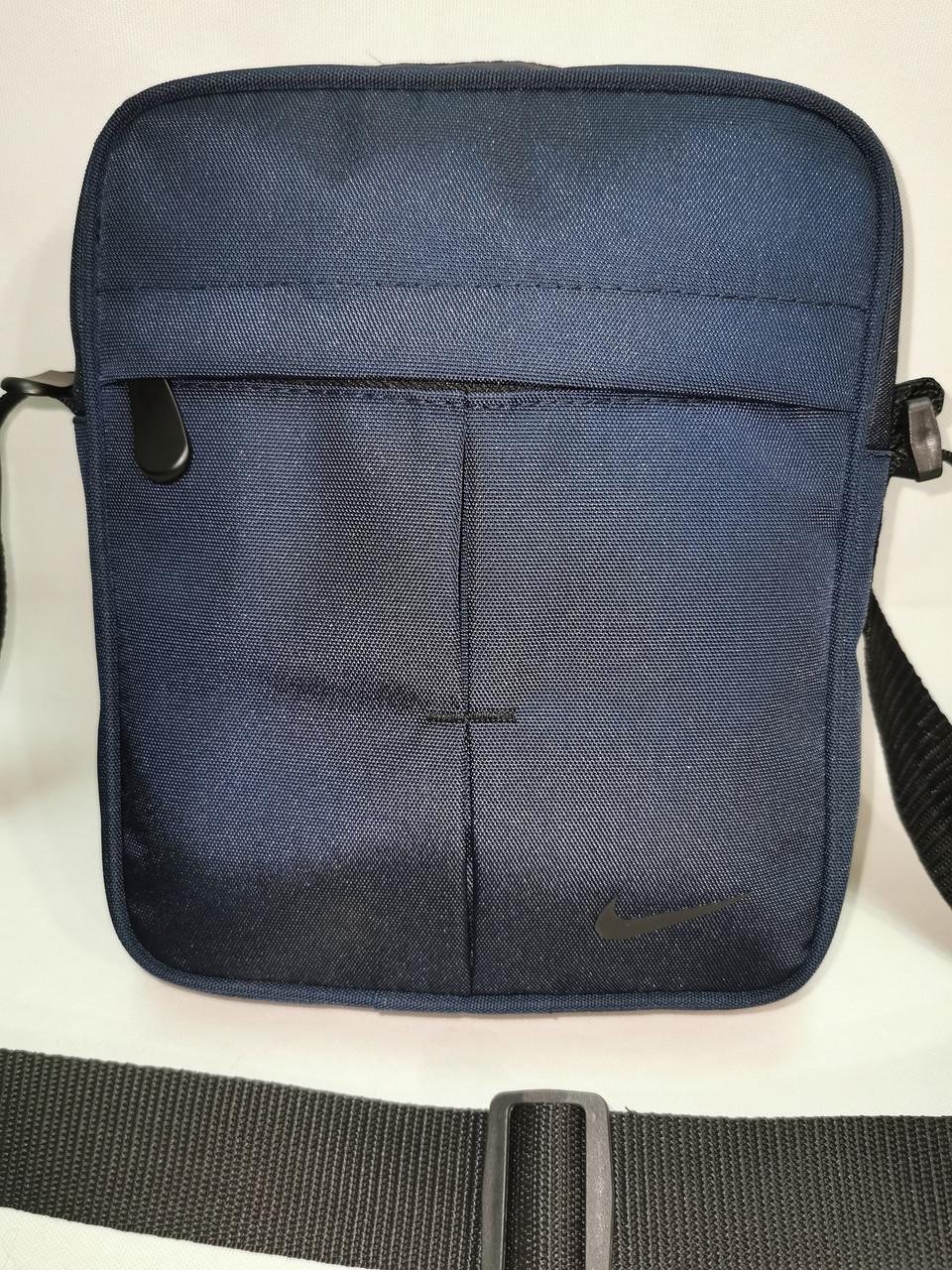 (Новый стиль)Барсетка NIKE Оксфорд ткань 1000D/Сумка спортивные для через плечо Унисекс ОПТ