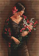 """Набор для вышивания крестом """"Luca-s"""" B473 Испанка"""